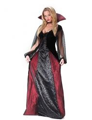 Gothic vampier outfit voor dames