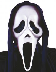 Zwart en wit spokenmasker voor volwassenen