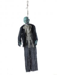 Zombie aan strop decoratie