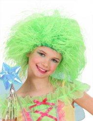 Groene pruik voor kinderen