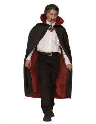 Rode en zwarte vampier cape voor kinderen