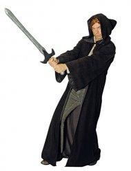 Deluxe bruine meester van het kwaad cape voor volwassenen