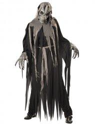 Zombie skelet kostuum voor mannen