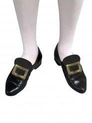 Goudkleurige schoen gesp