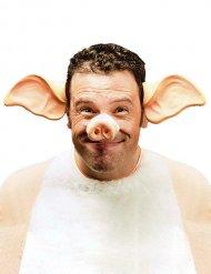 Haarband met varken oren voor volwassenen
