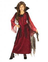 Vampier gothic kostuum voor meisjes