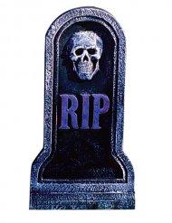 Skelet grafsteen decoratie