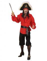Zwarte piraten broek voor mannen