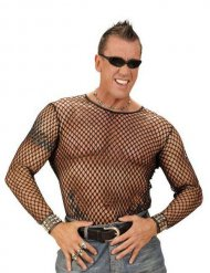 Sexy visnet t-shirt voor mannen
