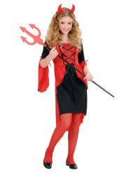 Halloween duivel kostuum voor meisjes