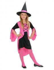 Roze heks outfit voor meisjes
