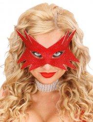 Rode ster masker voor volwassenen