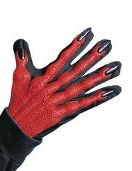 3D duivel handschoenen