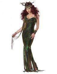 Groen Medusa kostuum voor vrouwen