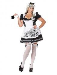Donkere Alice kostuum voor vrouwen - Plus Size