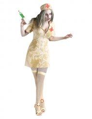 Zombie verpleegster outfit voor vrouwen