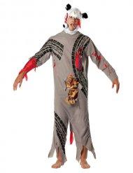Dood dier zombie kostuum voor volwassenen