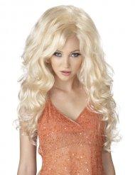 Sexy blonde pruik voor vrouwen