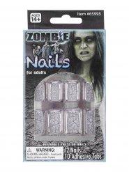 Gebroken zombie nagels volwassenen