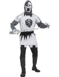 Zombie ridder kostuum voor mannen