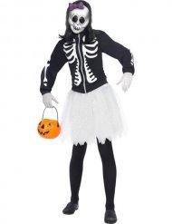 Tutu skelet kostuum voor vrouwen