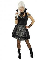 Sexy gothic dirdnl jurk voor vrouwen