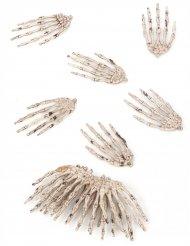 Set van 12 skelethanden