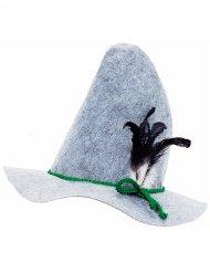 Beierse hoed met veer voor volwassenen
