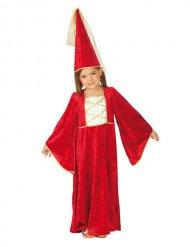 Middeleeuwse prinses kostuum voor kinderen