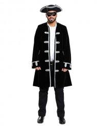 Zwarte Venetiaanse piraat outfit voor mannen
