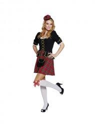Schots kostuum voor vrouwen
