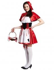 Roodkapje sprookjes kostuum voor vrouwen