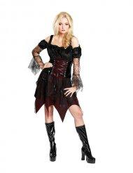 Gothic heks kostuum voor vrouwen