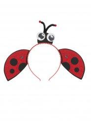 Lieveheersbeestje haarband voor meisjes