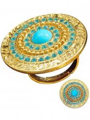 Turquoise Egyptische ring