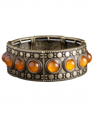 Antieke bronskleurige armband voor volwassenen