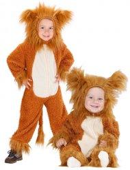 Pluche leeuwenkostuum voor baby's