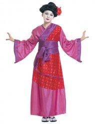 Chinese geisha kostuum voor kinderen