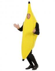 Gele banaan kostuum voor volwassenen
