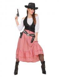 Western kostuum voor dames