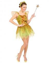 Fee jurk in herfstkleuren voor vrouwen