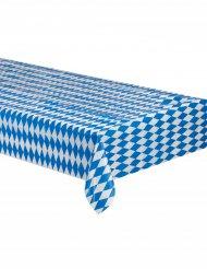Wit en blauw Beiers tafelkleed