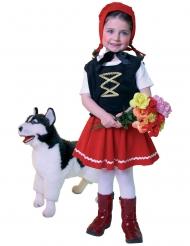 Klein Roodkapje kostuum voor meisjes