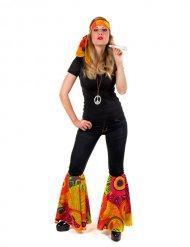 Veelkleurige hippie set voor vrouwen