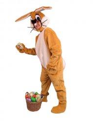 Bruin konijn kostuum voor volwassenen