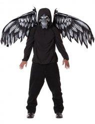 Horror engel masker en vleugels