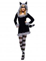 Sexy wasbeer kostuum voor vrouwen