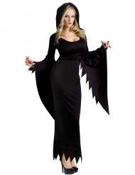 Gothic Halloween heks kostuum voor vrouwen