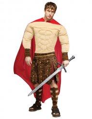 Gevoerd Romeins gladiator kostuum voor volwassenen
