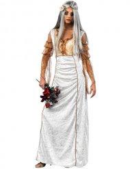Elegante zombie bruid kostuum voor vrouwen